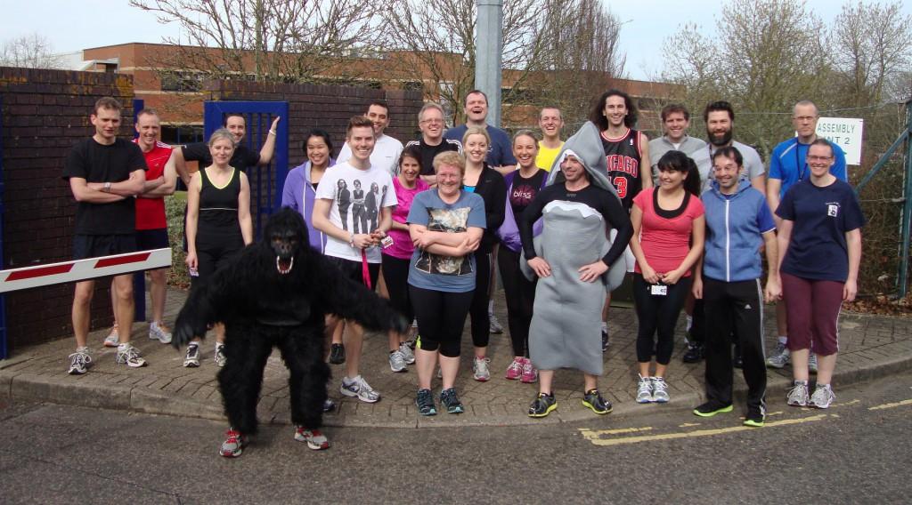 2014 Sport Relief Mile