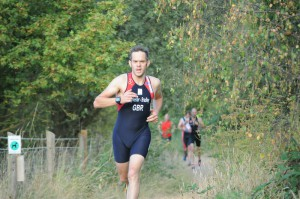 Eastleigh Aquathlon 2014 Race 3 on the run