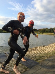 Eastleigh Aquathlon 2014 Race 3 with Ben Cook